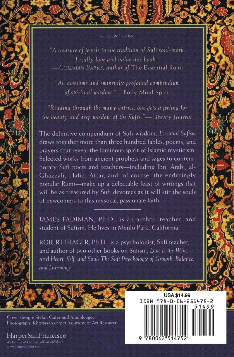 Essential Sufism by James Fadiman & Robert Frager