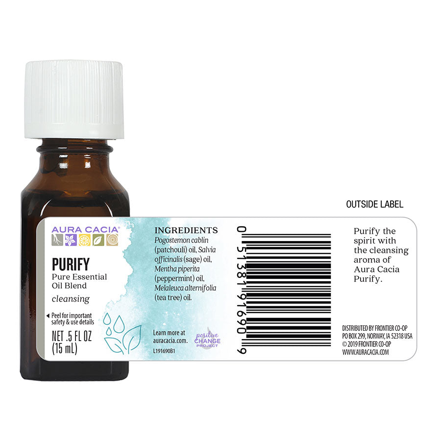 Aura Cacia Purify Oil .5 oz.