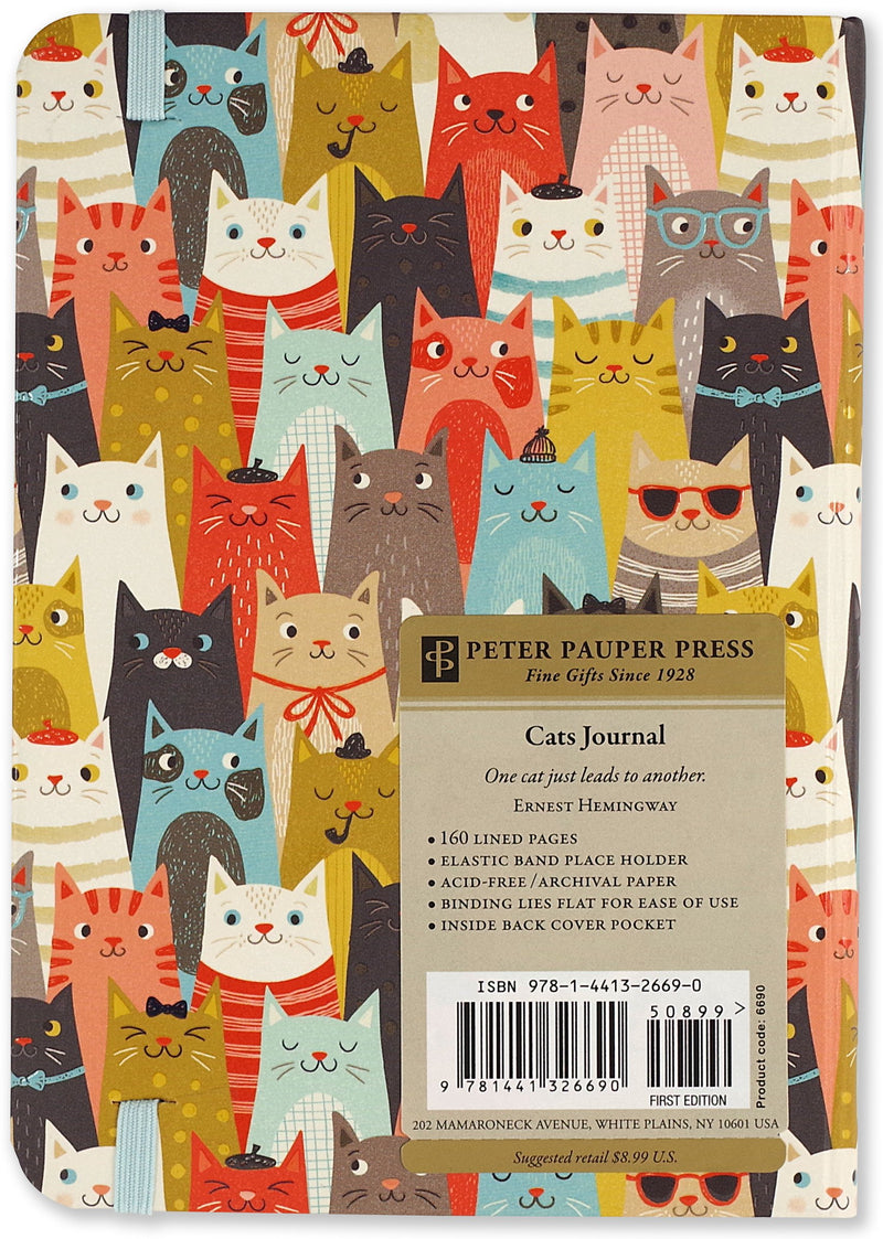 Lots of Happy Cats Journal