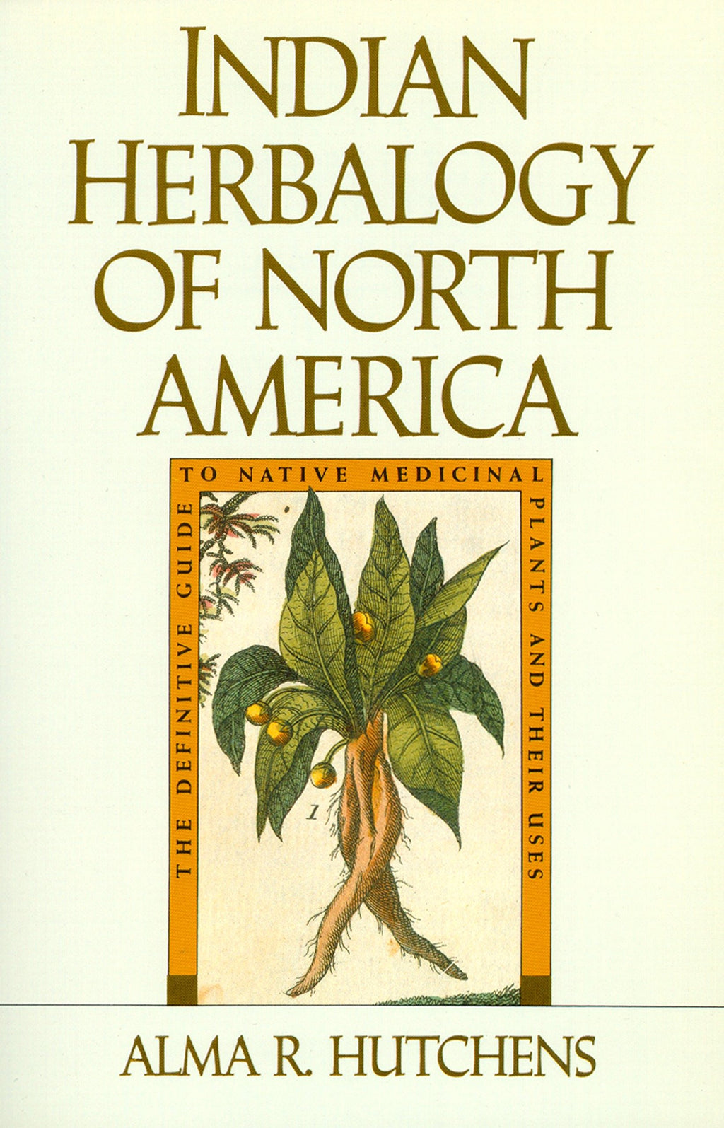 Indian Herbalogy of North America by Alma Hutchens