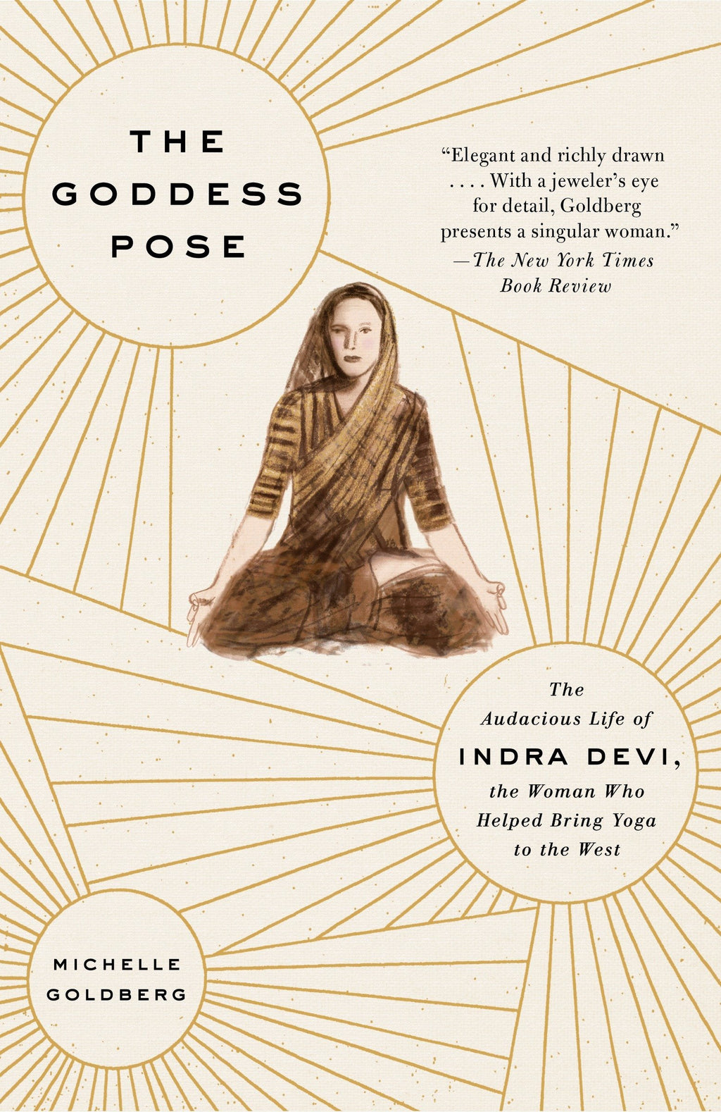 Goddess Pose by Michelle Goldberg