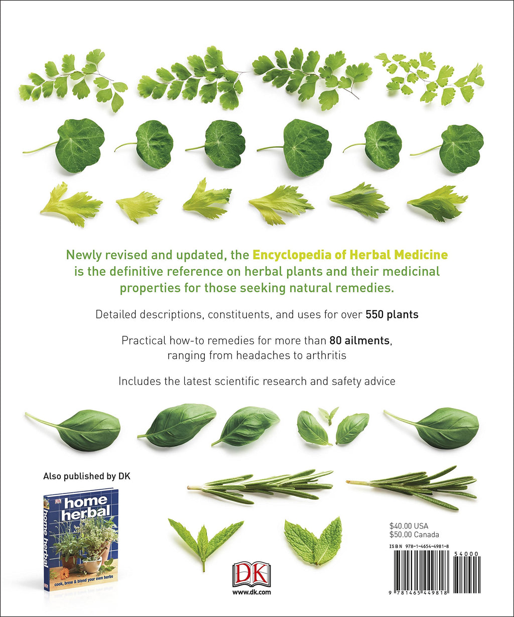 Encyclopedia of Herbal Medicine by DK