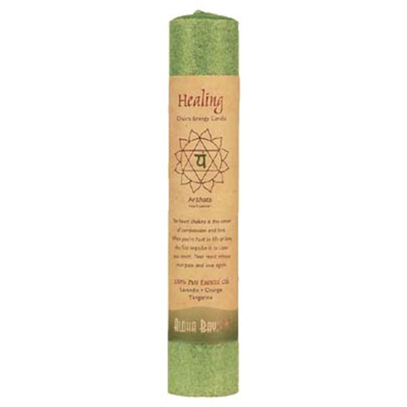Aloha Bay Chakra Energy Pillar Candles - Various Fragrances