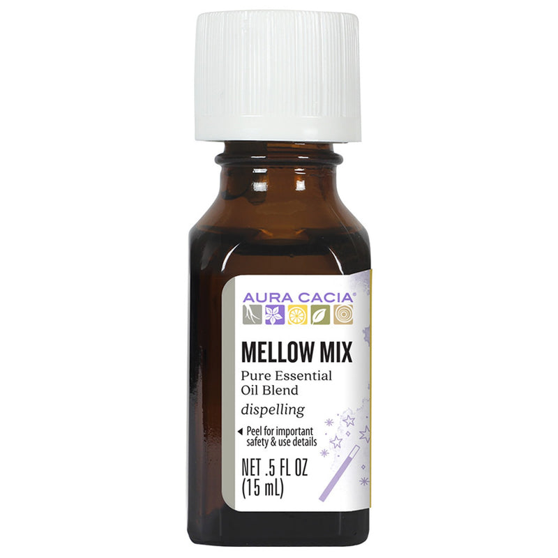 Aura Cacia Mellow Mix Oil .5 oz.