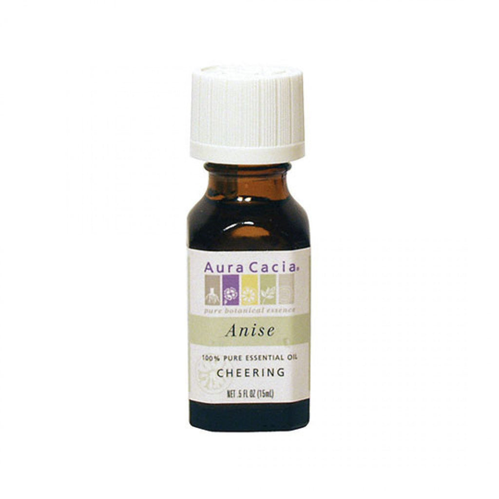 Aura Cacia Anise Seed Essential Oil for Cheering