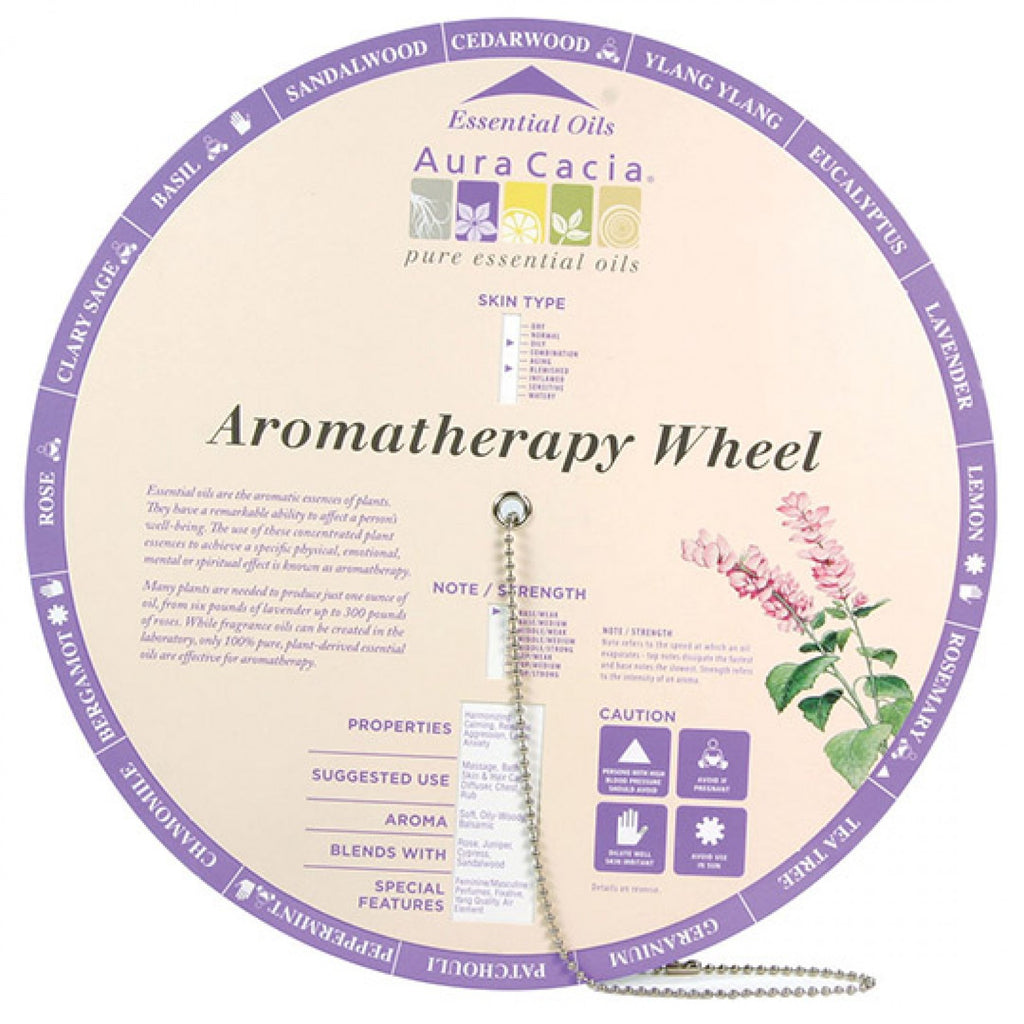 Aromatherapy Wheel by Aura Cacia