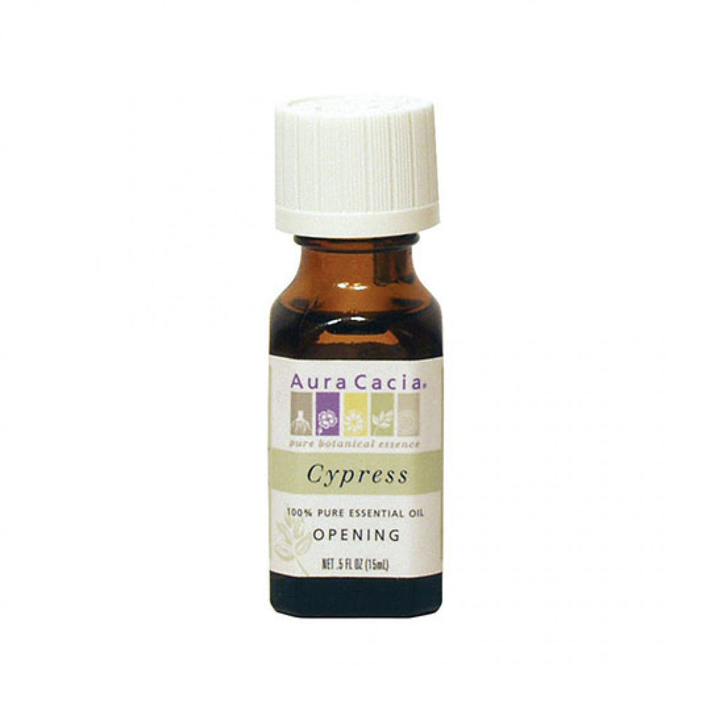 Aura Cacia Cypress Essential Oil for Opening