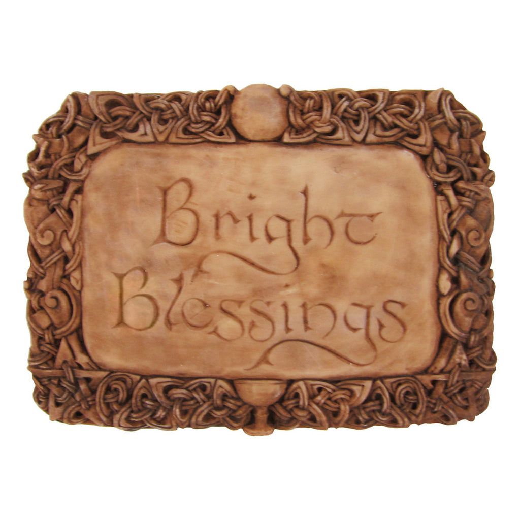 Bright Blessings Wall Plaque