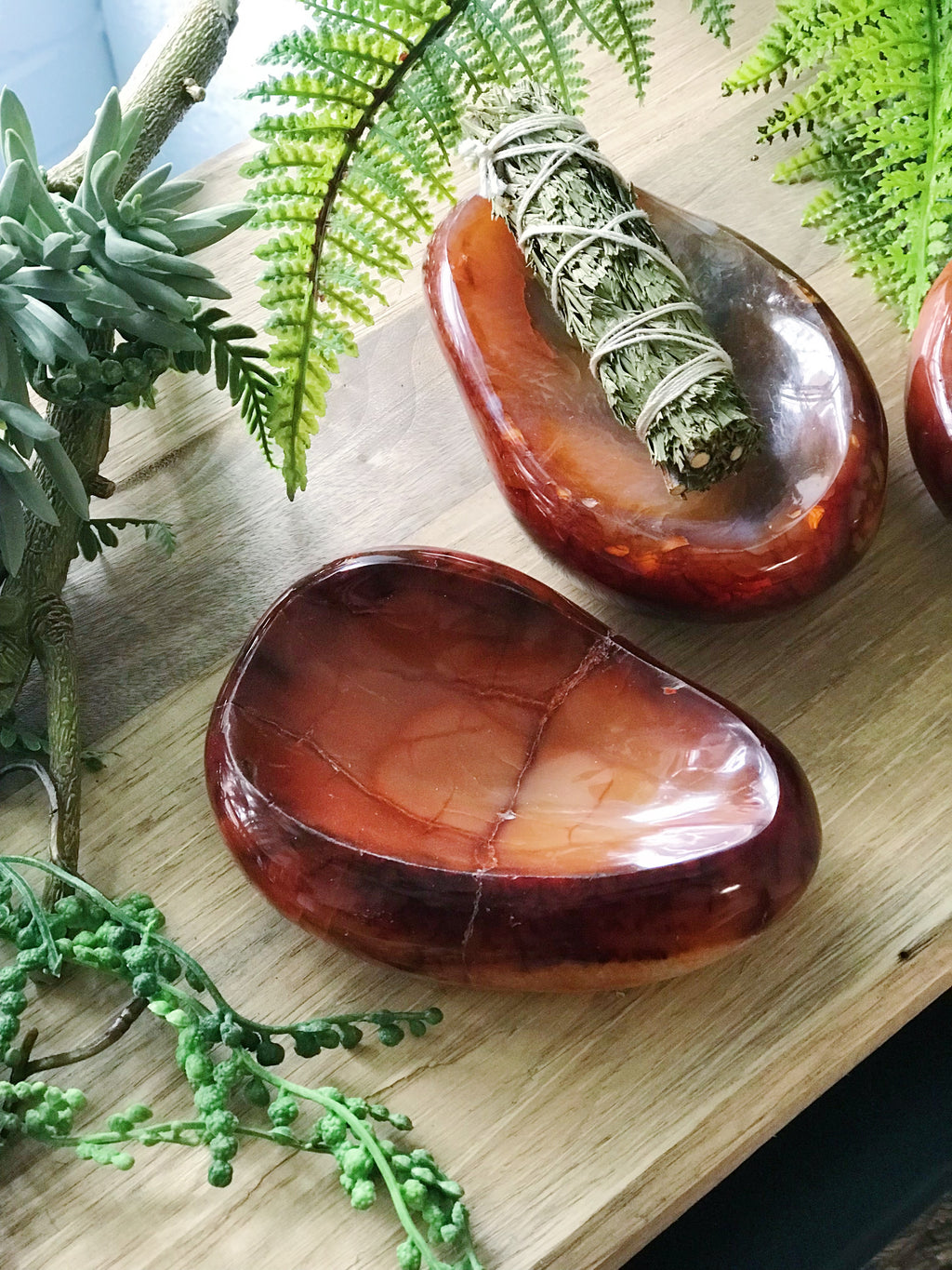 Carnelian Offering Bowl for Creativity & Energy