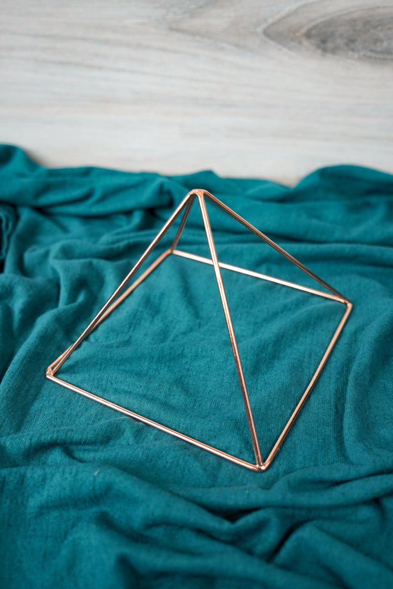 Copper Charging Pyramid