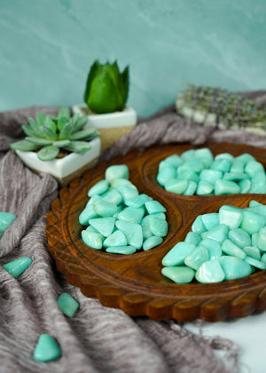 Tumbled Amazonite for Inner Peace