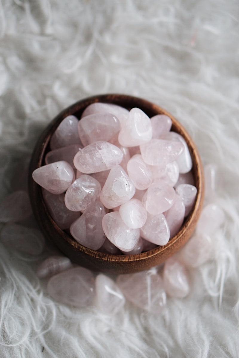 Tumbled Rose Quartz for Love & Relationships