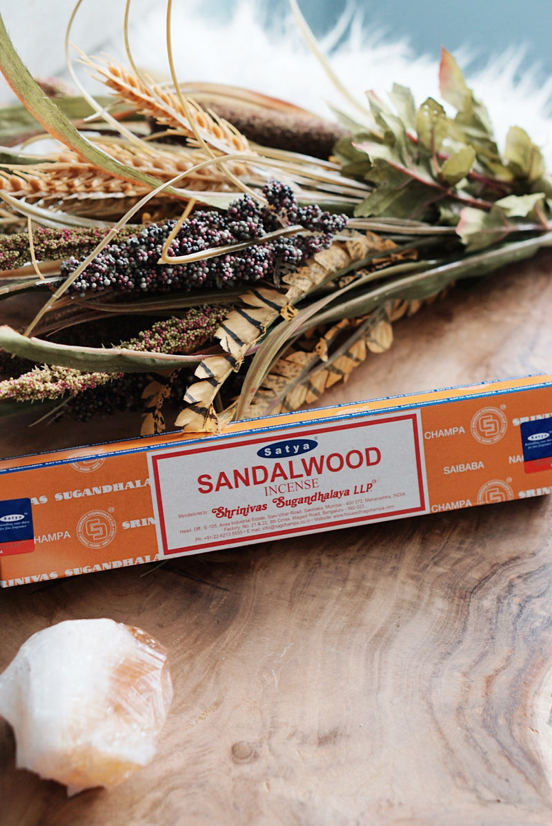 Satya Sacred Series Incense Sticks - Various Scents