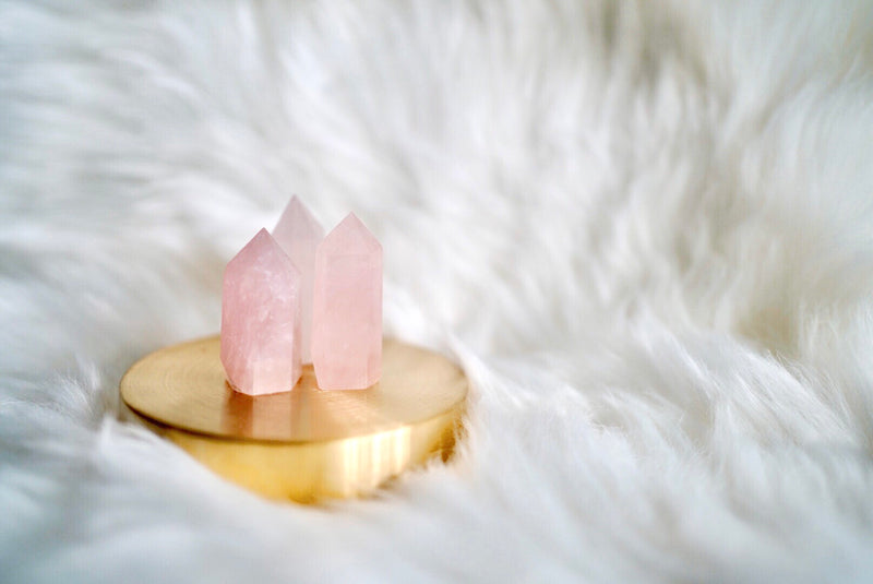 Rose Quartz Towers for Love & Relationships