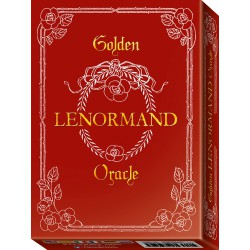 Golden Lenormand Oracle by Lunaea Watherstone