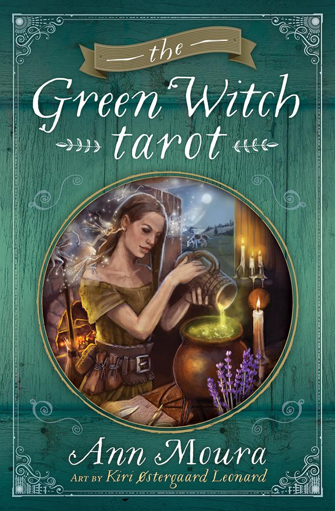 Green Witch Tarot by Ann Moura & Kiri Leonard