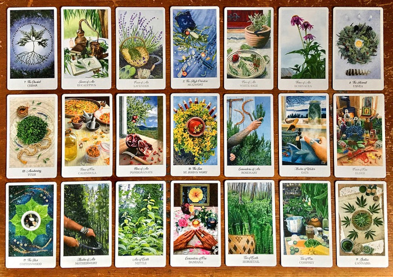 Herbcrafter's Tarot by Latisha Guthrie & Joanna Powell Colbert