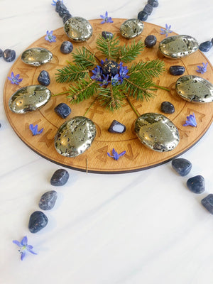 Tumbled Iolite for Direction & Guidance
