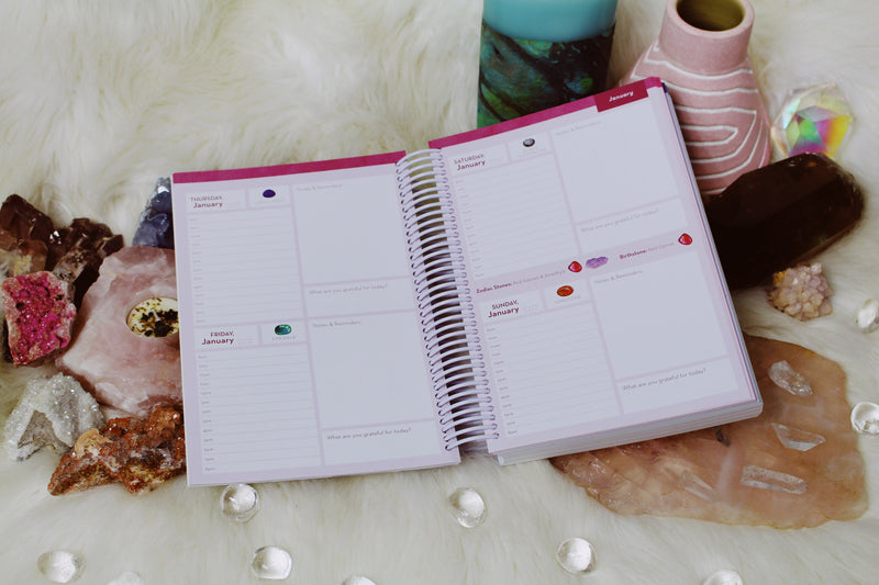 Crystal Healer's Datebook by Ashley Leavy