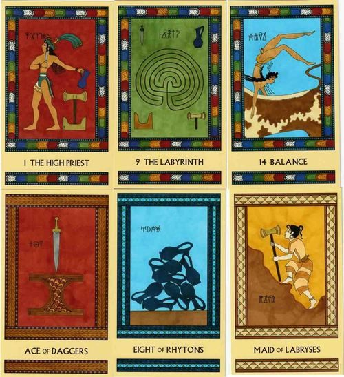 Minoan Tarot by Laura Perry