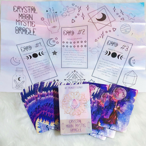 Crystal Moon Mystic Oracle Cards by Ashley Leavy