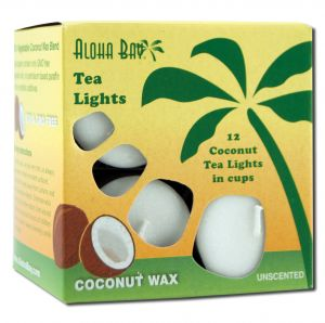 Aloha Bay Palm Wax Tea Lights