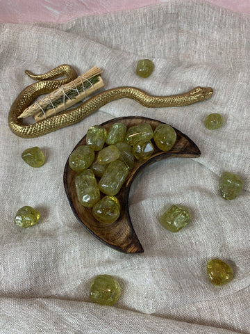 Tumbled River Agate for the Water Element