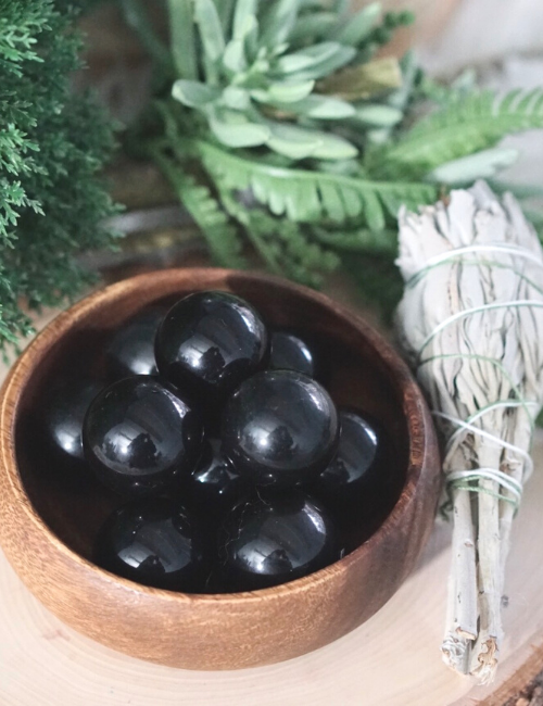 Obsidian Mini Spheres for Personal Growth