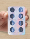 Moon Phase Wallet Cards