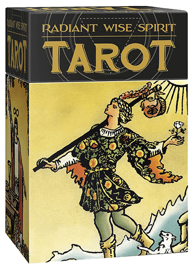 Radiant Wise Spirit Tarot by Arthur Edward Waite & Pamela Colman Smith & Sasha Graham