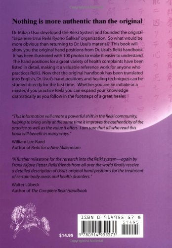 Original Reiki Handbook of Dr. Mikao Usui by Christine Grimm