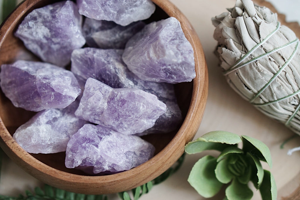 Rough Amethyst for Protection & Healing