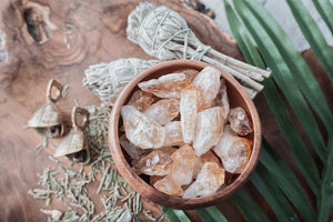 Citrine Points for Success & Positive Energy