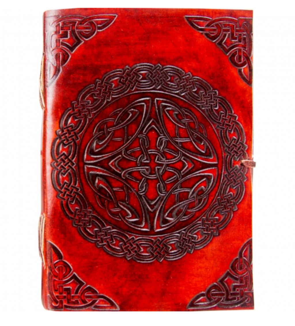 Leather Journal with Tie Closure - Various Styles