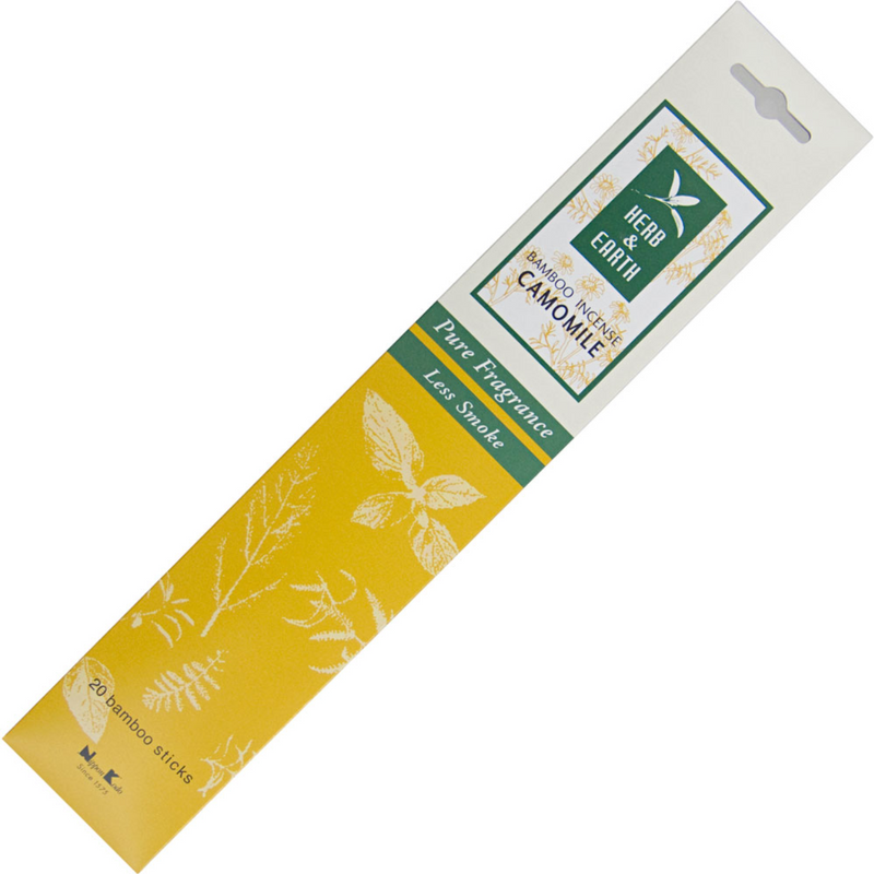 Herb & Earth Incense Sticks (20 Sticks Per Pack) - Various Fragrances
