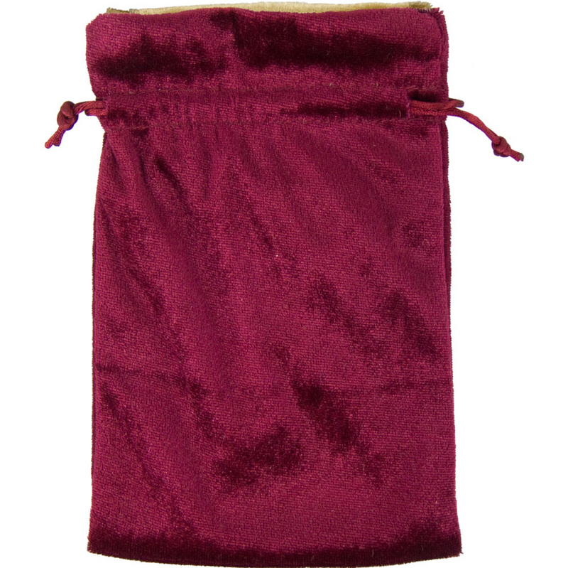 Velvet Pouches for Tarot Cards, Crystals, Runes, & More - Various Colors