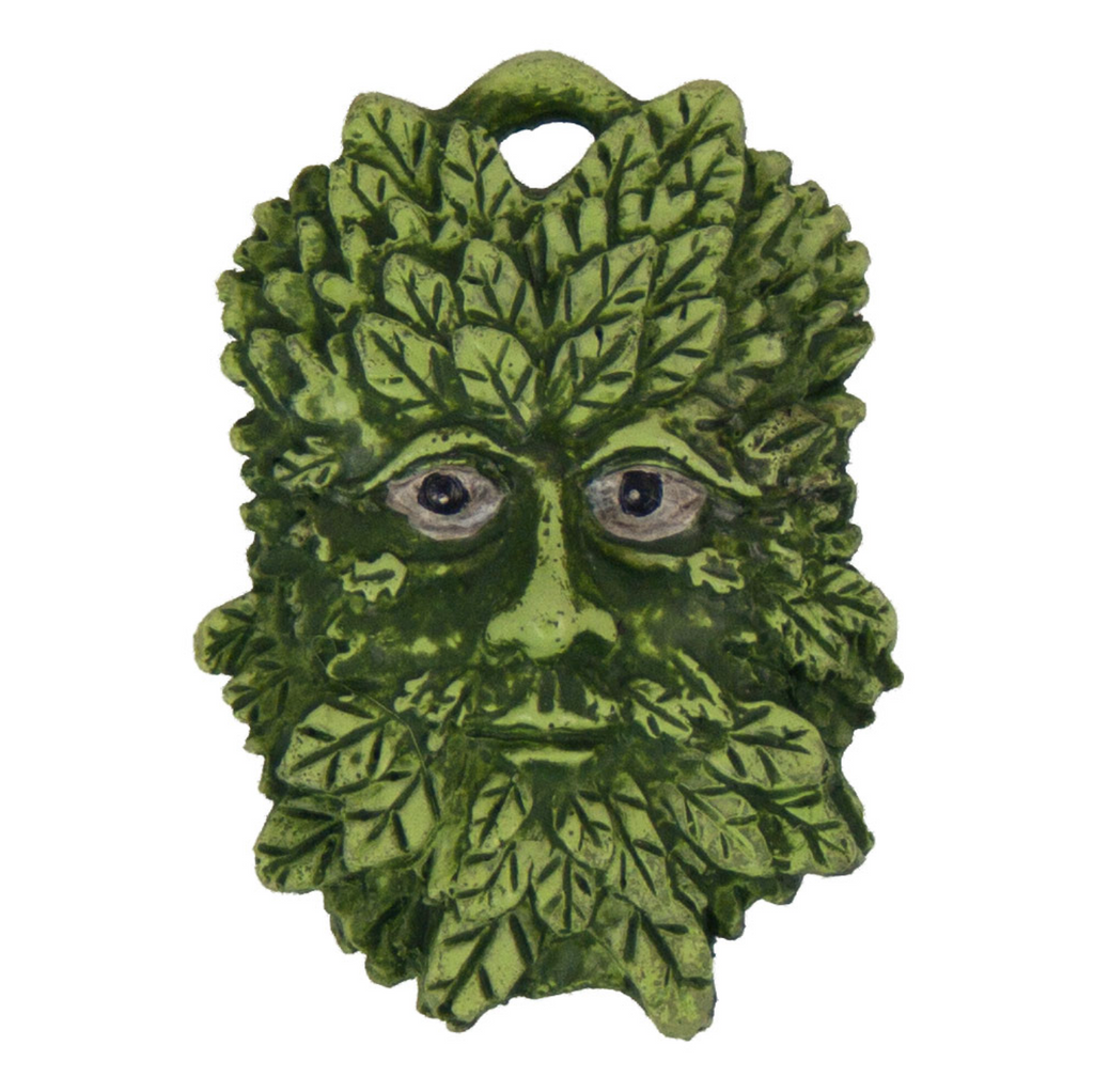 Green Man Pocket Charm Talisman