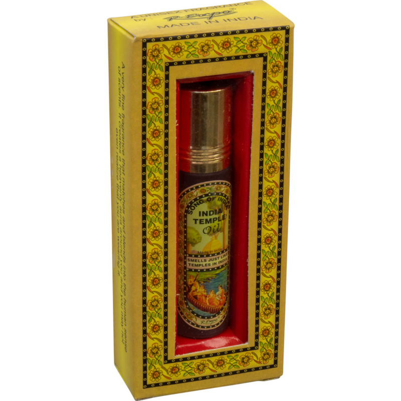 India Temple Roll-On Perfume Oil (8ml)