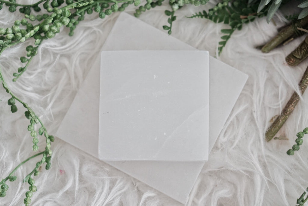 Selenite Charging Plate - Square