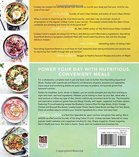 Nourishing Superfood Bowls by Lindsay Cooter