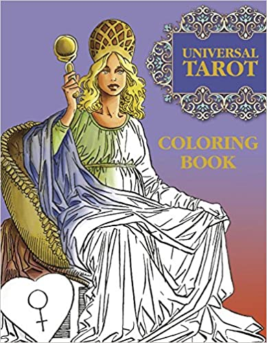 Universal Tarot Coloring Book by Roberto de Angelis