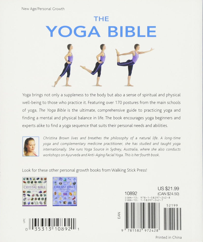 Yoga Bible by Christina Brown