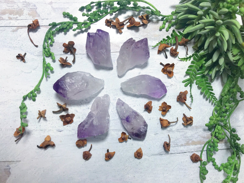 Amethyst Points for Protection & Healing