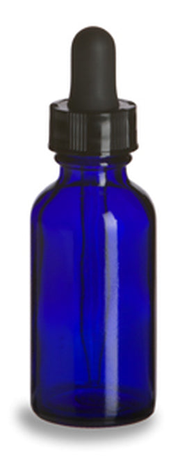 Glass Apothecary Dropper Bottles - Various Colors