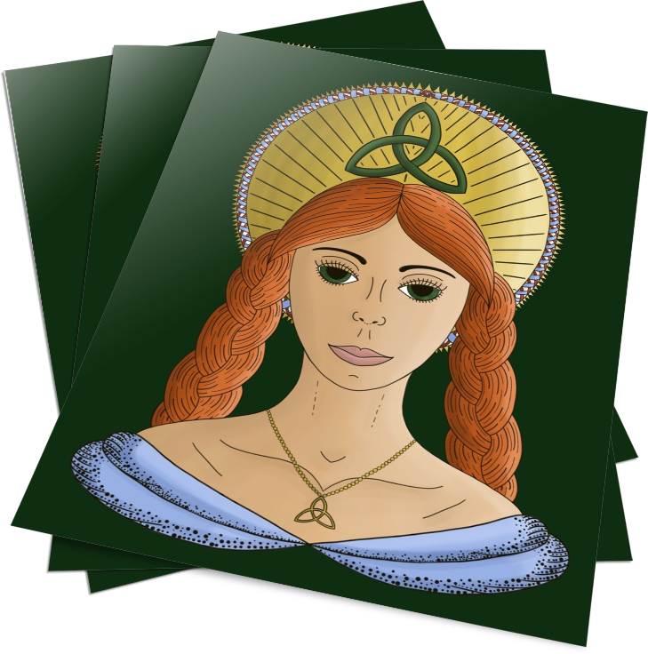 [FREE DOWNLOAD] Goddess Brigid Coloring Pages
