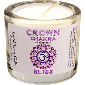 Reiki-Charged Soy Chakra Votive Candles - Various Styles