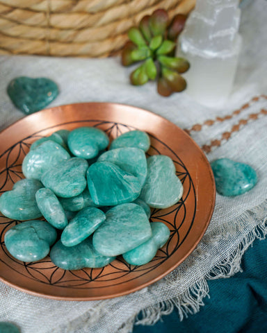 Tumbled Cavansite for Spiritual Direction