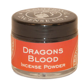 Traditional Incense Powder Jars - Various Scents