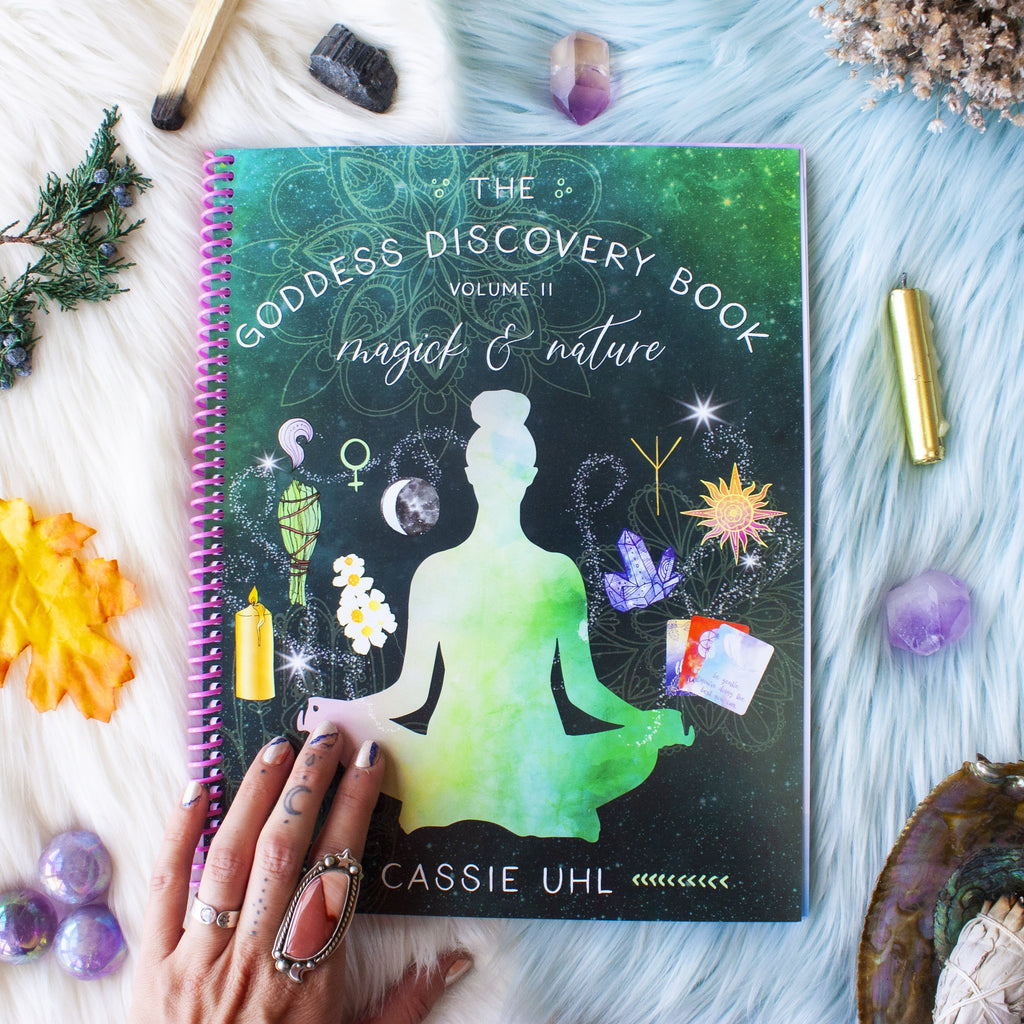 Goddess Discovery Book Volume 2 by Cassie Uhl