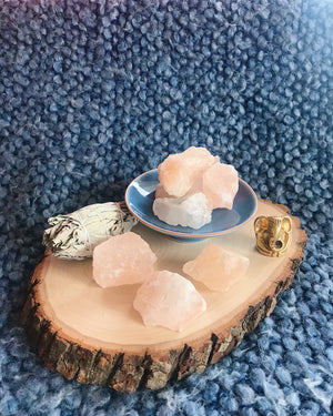 Rough Himalayan Salt for Cleansing & Purification